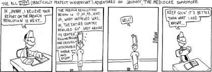 "Comic strip: ""French revolution"""